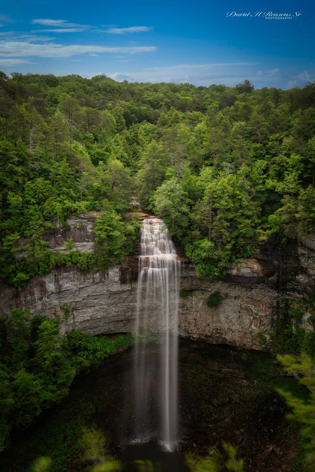 Tallest waterfalls east of the Mississippi River at 256 ft. high.
