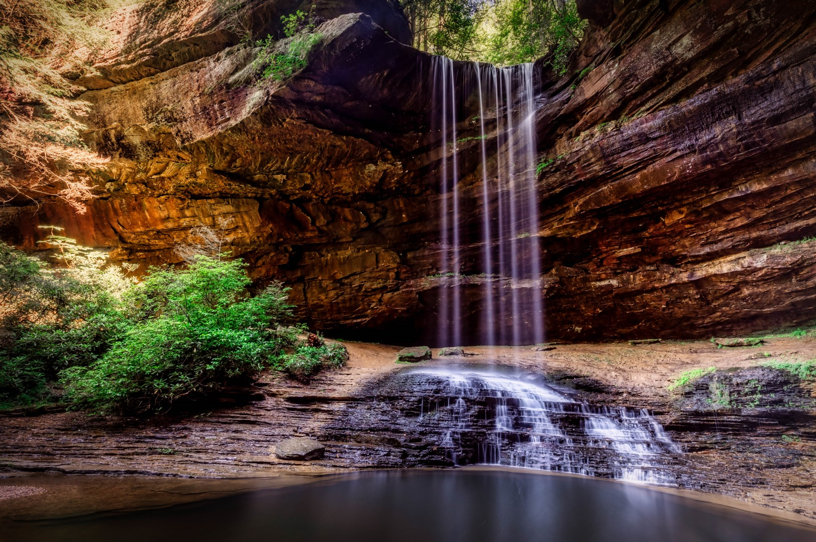 60 ft. high Falls in the Colditz Cove State Natural Area
