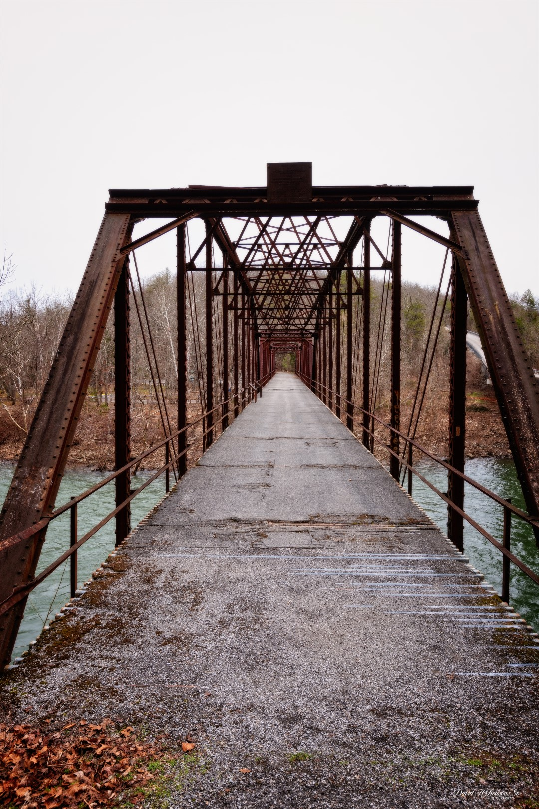 Old bridge over Emory River at Catoosa Rd.